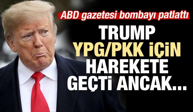 Trump YPG/PKK'ya aradığı desteği bulamadı