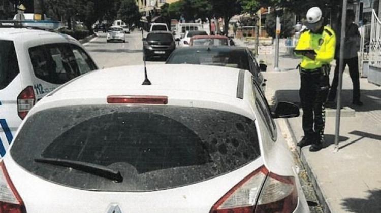Engelli yerine park eden onlarca araç sahibine şok ceza!