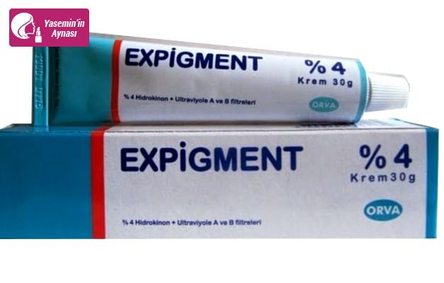 Expigment krem ne işe yarıyor? Expigment krem nasıl kullanılır?