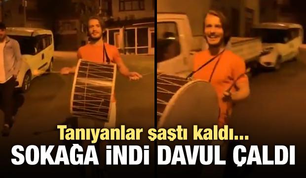 Trabzon sokaklarında davul çaldı!