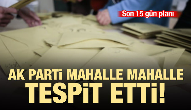 AK Parti'nin hedefi: Kayıp 430 bin seçmen