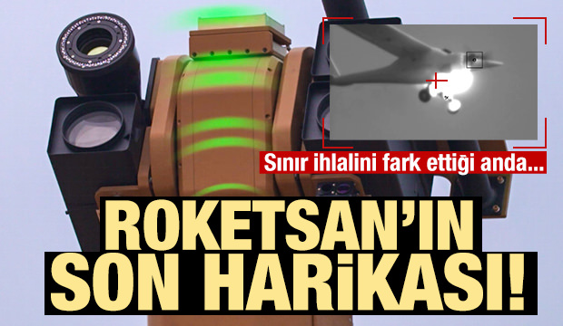 Alka 'drone' hedefleri 12'den vurdu!