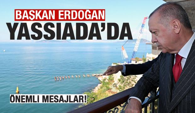 Başkan Erdoğan, Yassıada'yı ziyaret etti