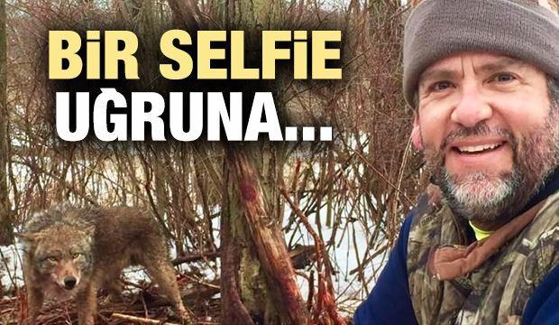 Bir selfie uğruna yaptıklarına bakın