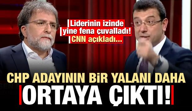 CNN Türk ve Ahmet Hakan'dan İmamoğlu açıklaması! Yalanı ortaya çıktı..
