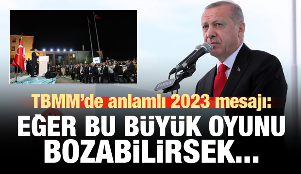 Cumhurbaşkanı Erdoğan TBMM'de konuştu