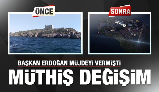 Erdoğan müjdeyi vermişti! İşte son hali