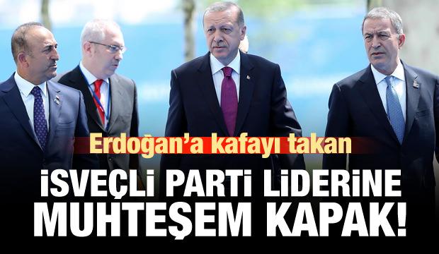 Erdoğan'a kafayı takan İsveç partisine muhteşem kapak!