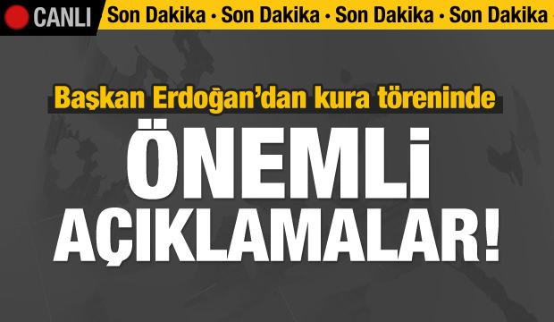 Erdoğan'dan önemli açıklamalar / CANLI