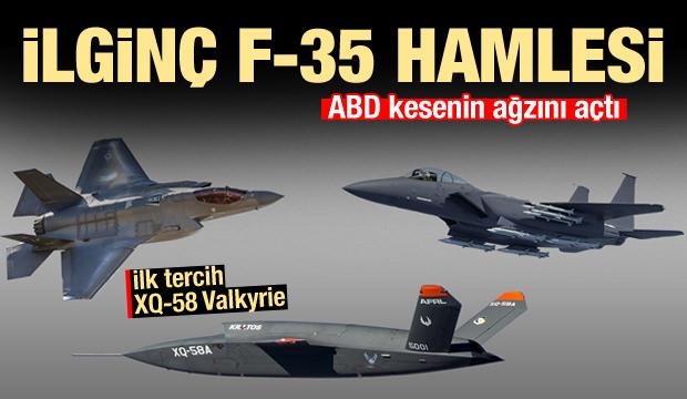F-35'lere yamak geliyor! ABD kesenin ağzını açtı