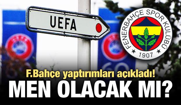 Fenerbahçe, UEFA yaptırımlarını açıkladı!