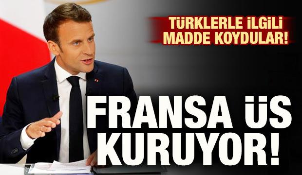 Fransa Kıbrıs'ta üs kuruyor