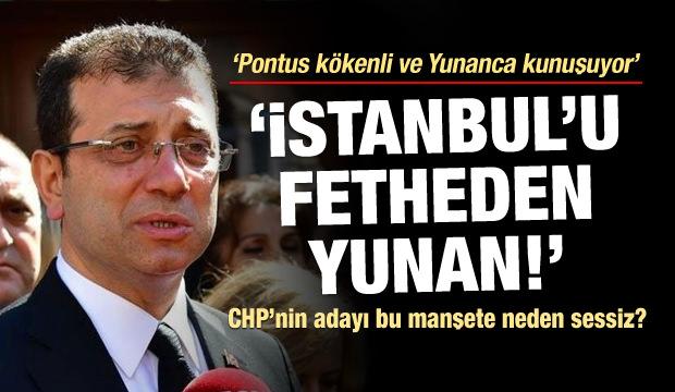 İşte CHP'nin adayı İmamoğlu'nun gerçek yüzü!