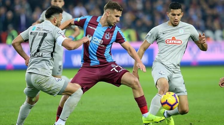 Trabzonspor üçüncülük aşkına! Muhtemel 11'ler