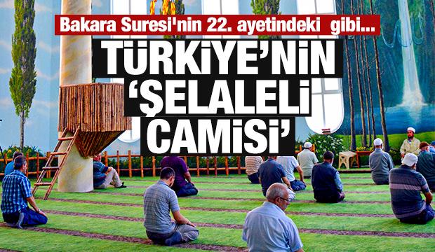 Türkiye'nin 'Şelaleli camisi'