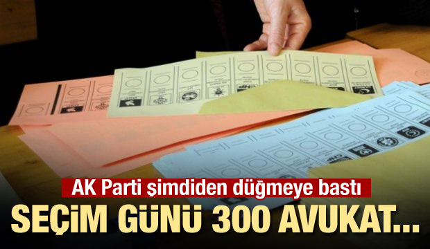 300 avukata sandık nöbeti