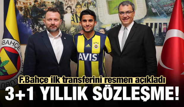 Fenerbahçe transferi açıkladı! 3+1 yıllık...