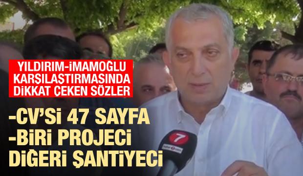 Külünk: İstanbul'u 47 sayfalık CV'si olan Binali Yıldırım yönetmeli