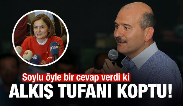 Soylu'dan Kaftancıoğlu'na cevap!