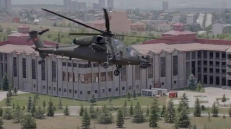Yeni Atak helikopterinin görüntüleri yayımlandı!