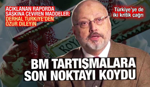 BM noktayı koydu: Sorumlu Suudi Arabistan, Türkiye'den özür dileyin