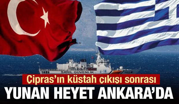 Çipras'ın küstah çıkışı sonrası Yunanistan ile tüm sorunlar masada
