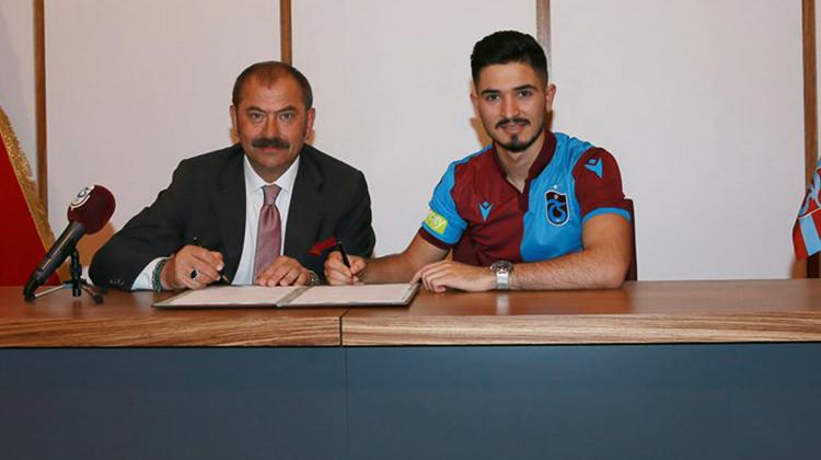 Trabzonspor transferi açıkladı! 4 yıllık imza
