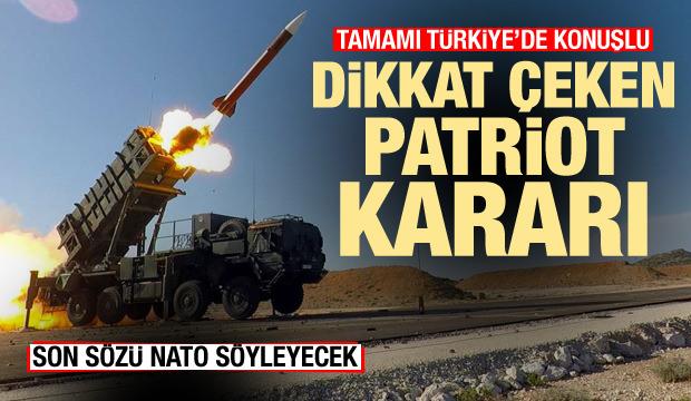 Hepsi Türkiye'de konuşlu! İspanya'dan dikkat çeken Patriot kararı