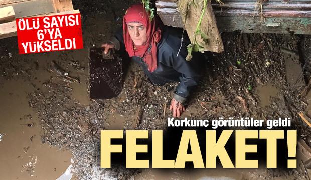 Trabzon'da taşkın: 6 ölü, 4 kayıp