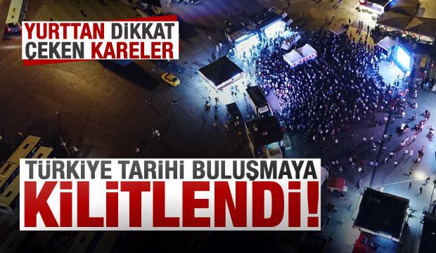 Türkiye tarihi buluşmaya kilitlendi