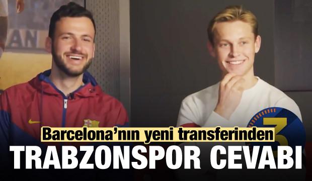 Barça'nın yeni yıldızından Trabzonspor cevabı!