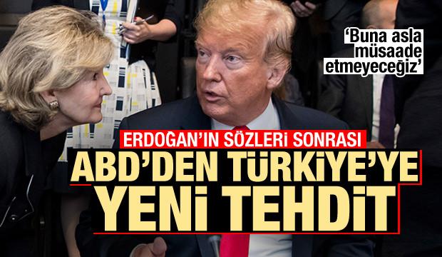 Erdoğan'ın sözleri sonrası ABD'den Türkiye'ye S-400 F-35 tehdidi