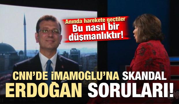 İmamoğlu'na skandal Erdoğan soruları! Bu nasıl bir düşmanlık?