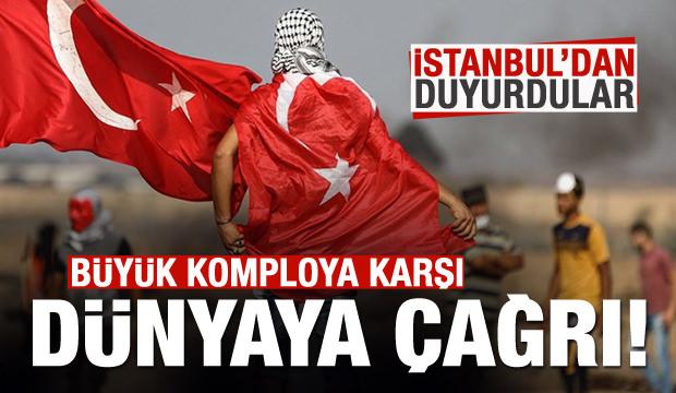 İstanbul'dan dünyaya duyurdular: Çok tehlikeli bir adım