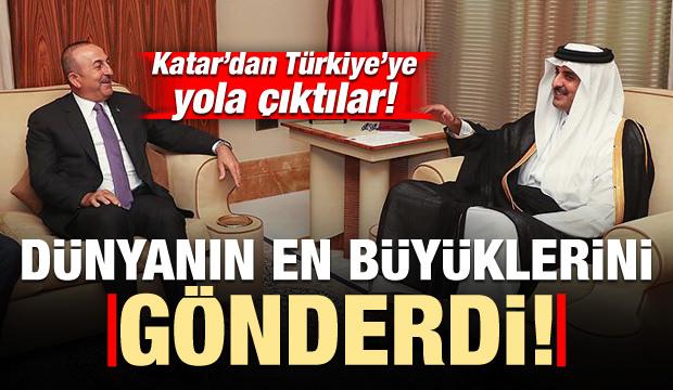 Katar'dan dev Türkiye hamlesi! Dünyanın en büyüklerini gönderdi