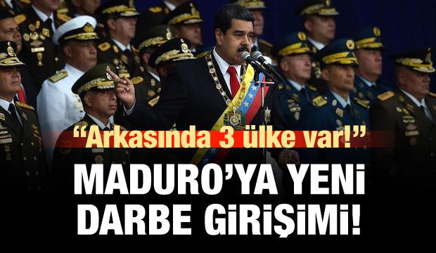 Maduro'ya karşı yeni darbe girişimi!