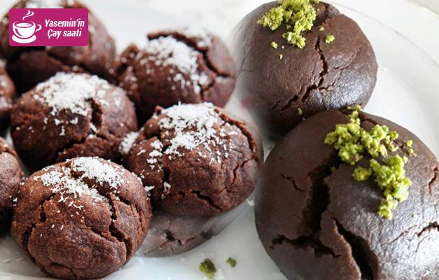 Pratik kakaolu ıslak kurabiye tarifi