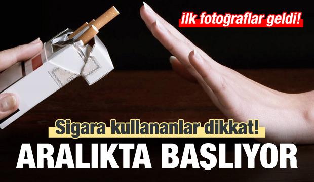 Sigara kullananlar dikkat! Aralıkta başlıyor