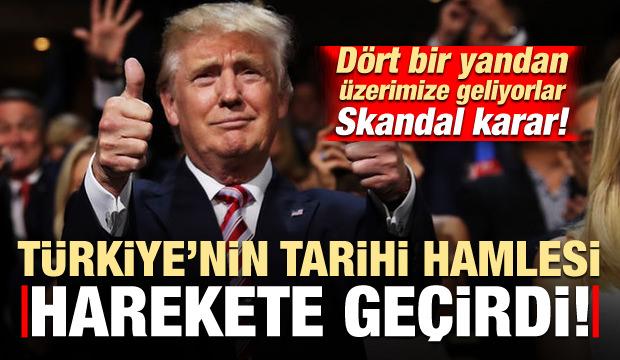 Türkiye'nin hamlesi sonrası ABD harekete geçti! Skandal karar...