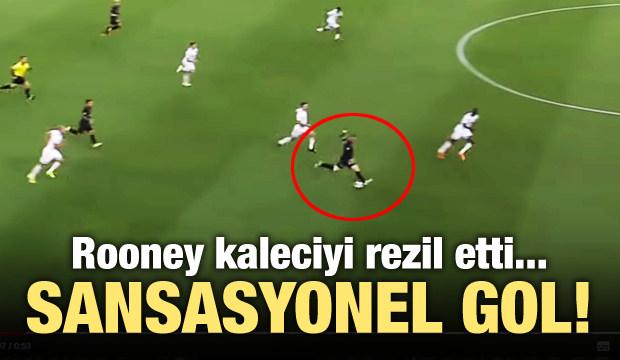 Wayne Rooney'den sansasyonel gol!