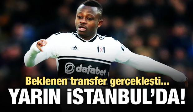 Beklenen transfer gerçekleşti! Yarın İstanbul'da