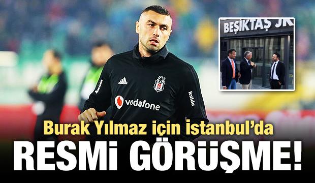 Burak Yılmaz için İstanbul'da resmi görüşme!