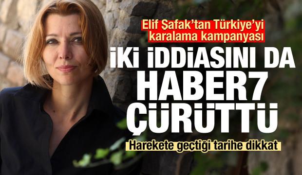 Elif Şafak'tan yine Türkiye'yi karalama kampanyası! Seçtiği tarih...