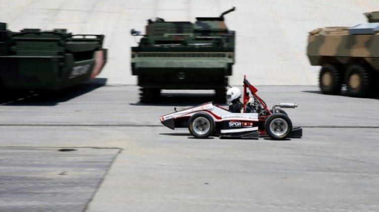 """Formula pistinde """"Devrim19 FNSS"""" rüzgarı esecek"""
