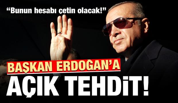 İngiliz gazeteden Cumhurbaşkanı Erdoğan'a açık tehdit!