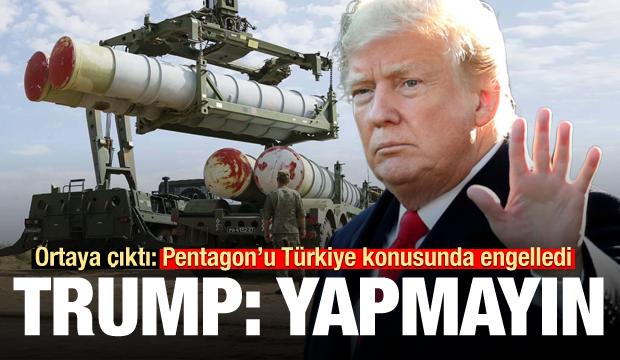 Ortaya çıktı! Trump, Pentagon'u Türkiye konusunda engelledi: Yapmayın