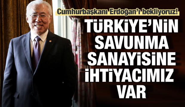 'Türkiye'nin savunma sanayisine ihtiyacımız var'