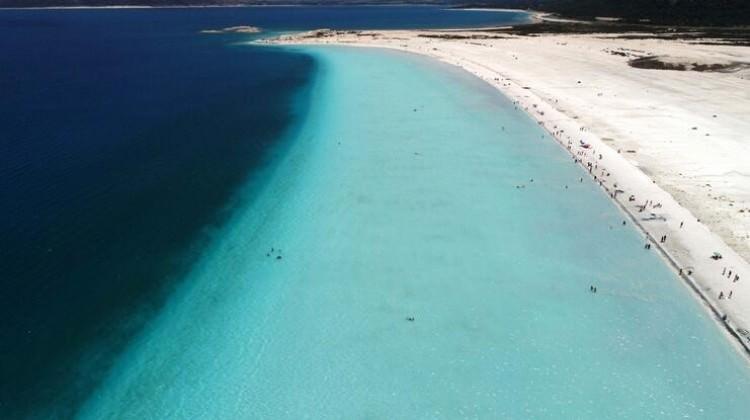 Yerli yabancı Türkiye'deki Maldivler'e hayran...
