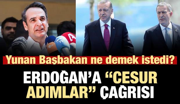 Yunanistan Başbakanı'ndan Erdoğan'a 'cesur adımlar' çağrısı!