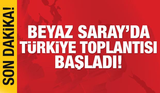 Beyaz Saray'da Türkiye toplantısı başladı!